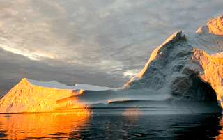 warming sea melting ice