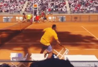 tennis player freakout