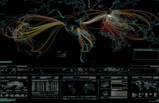 domain name internet map