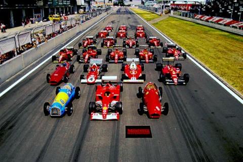 Formula 1 Ferrari lineup
