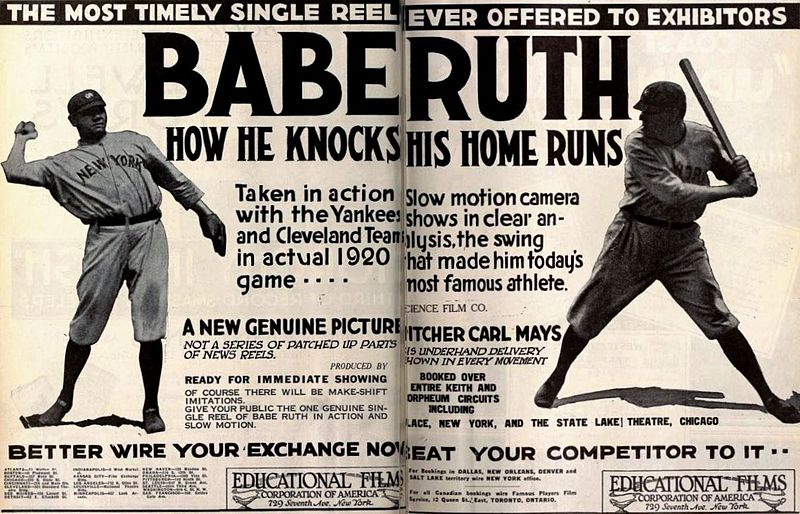 Babe Ruth Home Runs