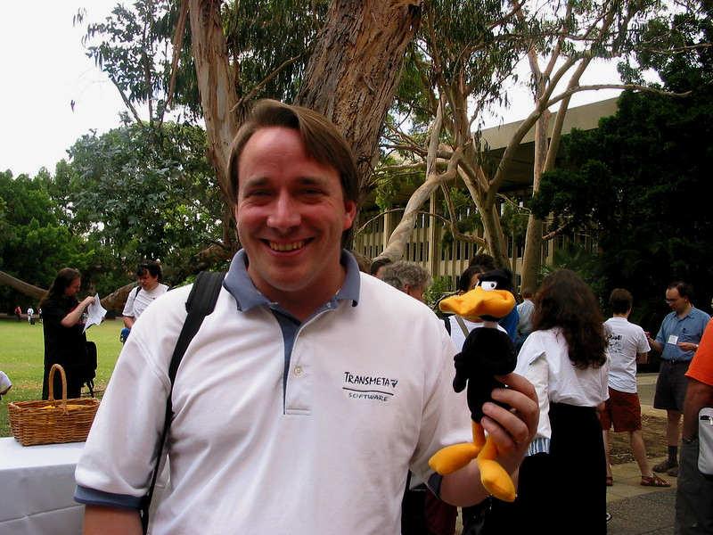 Linus Torvalds 2003