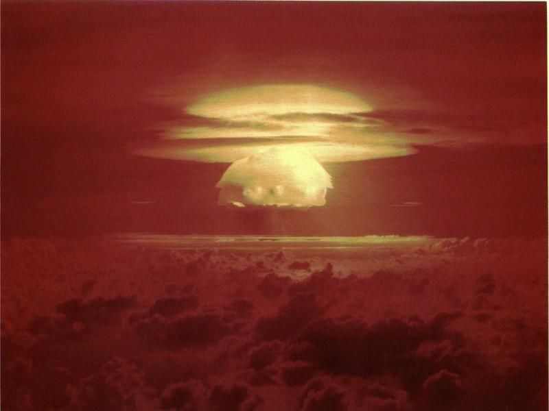 Nuclear Testing in Bikini Atoll (Bikini Bottom in Spongebob)