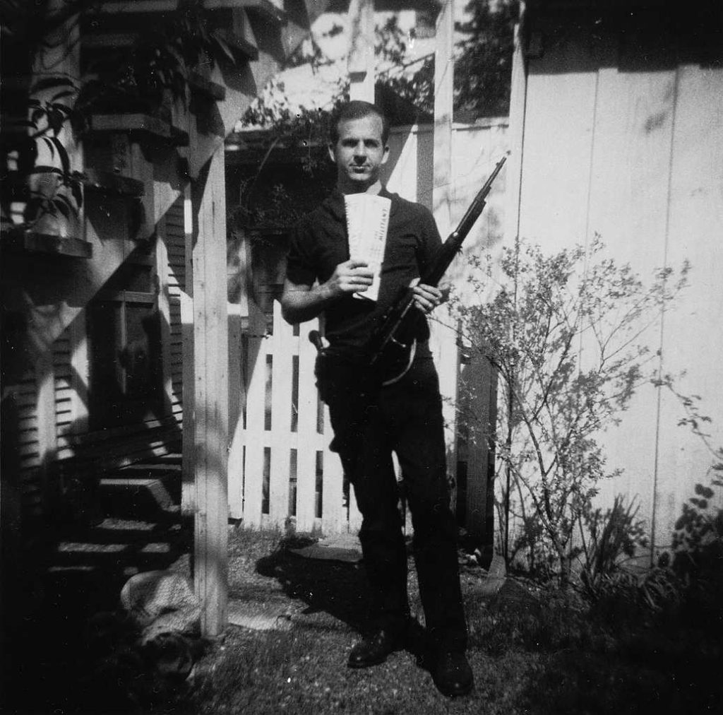 Oswald alleged shooter of JFK