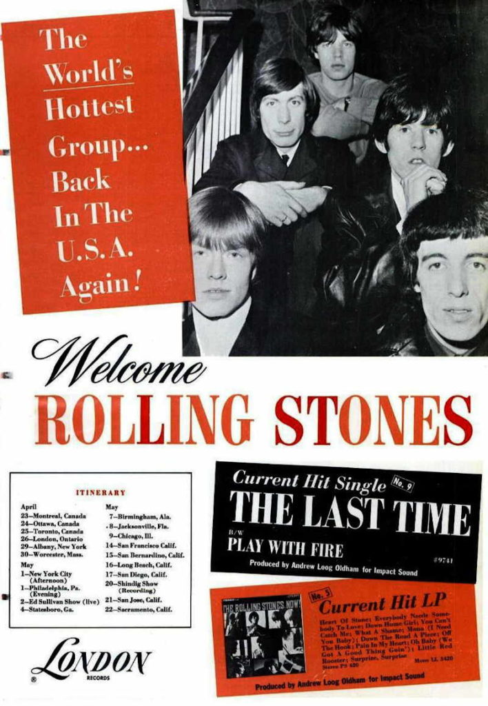 Rolling Stones Wrote Satisfaction Song during 1965 America Tour