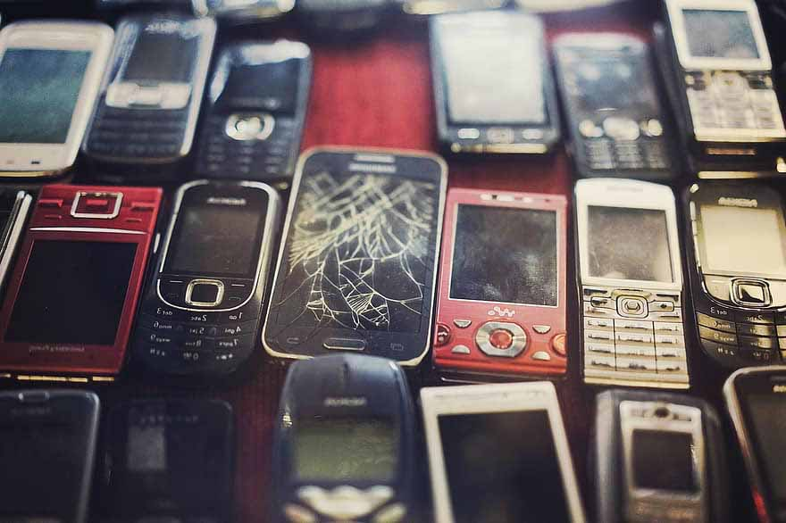 cellphone waste electronics recycling