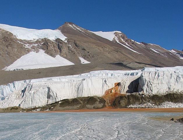 Antarctica blood falls