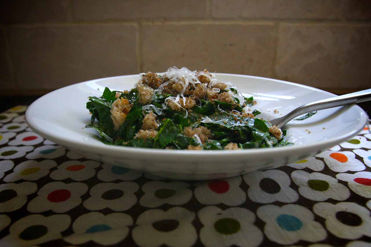 Kale Salad Rich in Vitamin K